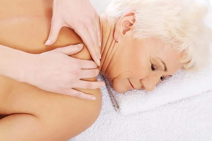 Massage à domicile personne âgée