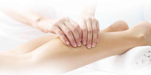 Massage bien-etre des jambes